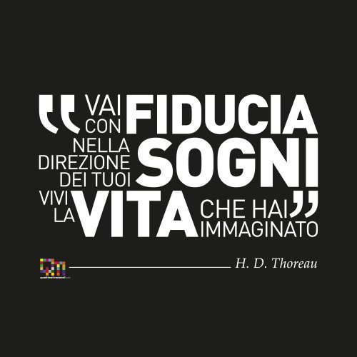 Quadri Motivazionali frase Thoreau