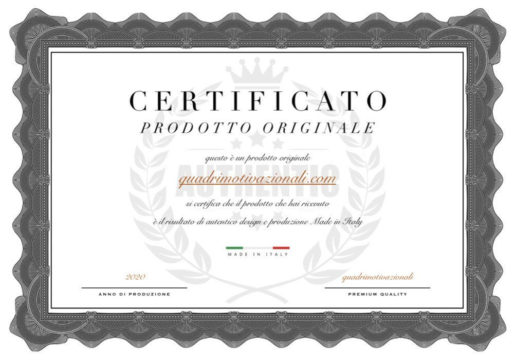 Certificato quadri motivazionali