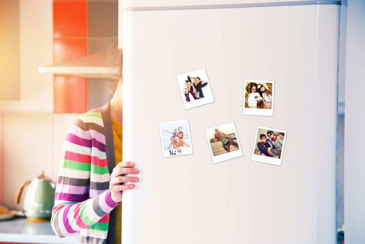 Polaroid-frigo-magnetica